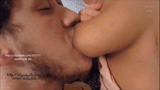بزاز ملبنة غزيرة الحليب و الشاب يرضع منها بقوة الجنس العربي القذر