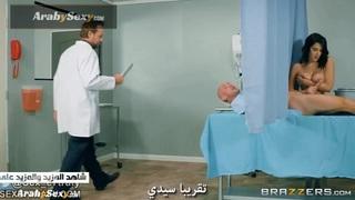 الممرضة المحترفة مترجم   سكس نيك ممرضة الجنس العربي القذر