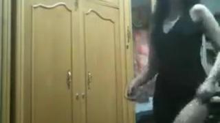 رقص منازل بقميص النوم العاري رقص في غرفة النوم رقص اغراء ومثير xxx ...